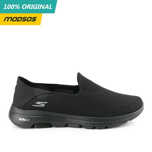 Foto Produk Sepatu Slip On Skechers Go Walk 5 Mono Black Original dari Modsos