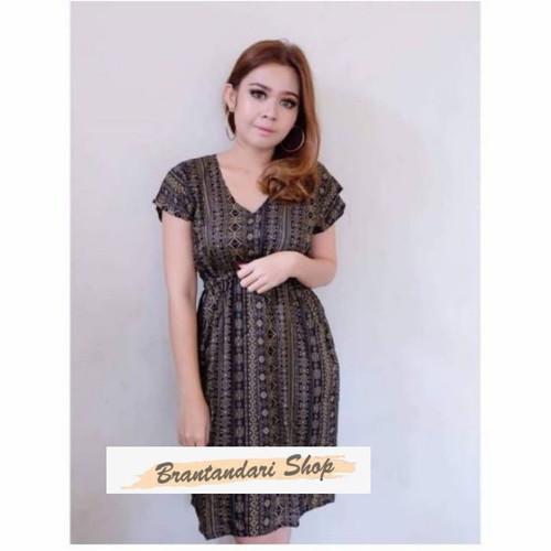 Foto Produk Daster Manohara Bali Etnik Pendek - Daster Wanita - Dress Santai dari Brantandari Shop