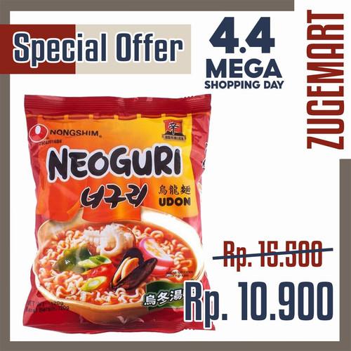 Foto Produk Neoguri Udon / Neoguri Ramyun NongShim Ramdon / Spicy&Seafood 120gr dari zugemart