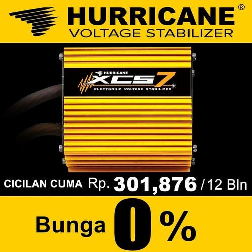 Foto Produk Hurricane XCS 7 FREE xcsR Mtr Gransi 7thn ORI XCS7 XCS5 XCS 5 XCS3 ECU dari HURRICANE XCS INDONESIA