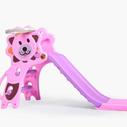 Foto Produk Mainan perosotan anak Kado Anak Seluncuran Prosotan Lipat Slide Murah - Singa Pink, Packing Kardus dari Mama Lemon