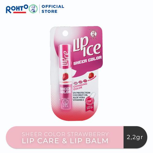 Foto Produk Lip Ice Sheer Colour Strawberry dari Rohto-Official-Store