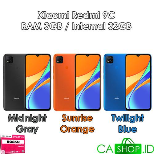 Foto Produk Xiaomi Redmi 9C - 3GB 32GB (3/32) - New Original Garansi Resmi - Sunrise Orange dari CA Shop