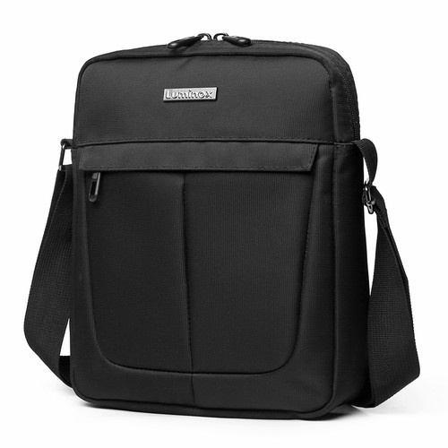 Foto Produk Luminox Tas Selempang Sling Bag Tablet Ipad 7 Inch Tahan Air - EEFF - Hitam dari Navy Club Official Store