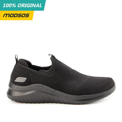 Foto Produk Sepatu Slip On Pria Skechers Sport Ultra Flex 2 Black Original dari Modsos