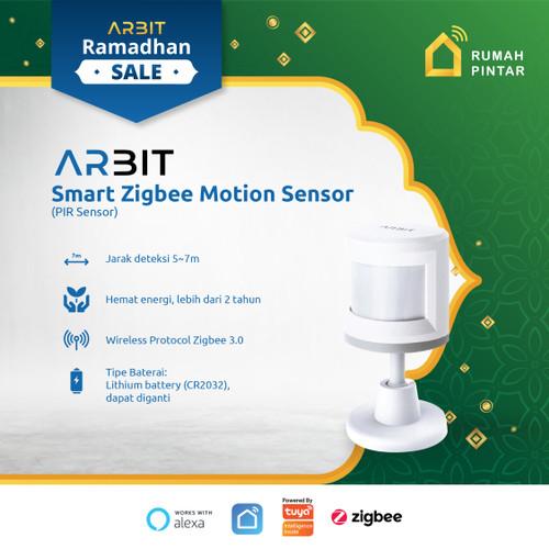 Foto Produk ARBIT - Zigbee Smart PIR Motion Sensor TUYA dari ARBIT Official Store