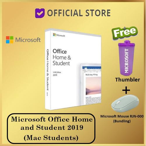 Foto Produk Microsoft Office Home and Student 2019 Original 1 PC Atau Mac Students - Free Tumbler dari DUNIA COMPUTER & SERVICE
