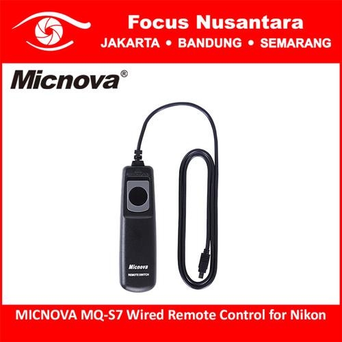 Foto Produk MICNOVA MQ-S7 Wired Remote Control for Nikon dari Focus Nusantara