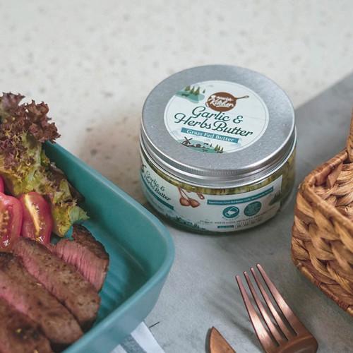 Foto Produk Garlic Herbs Butter (Grass Fed Butter) 200gr dari Nourish Indonesia