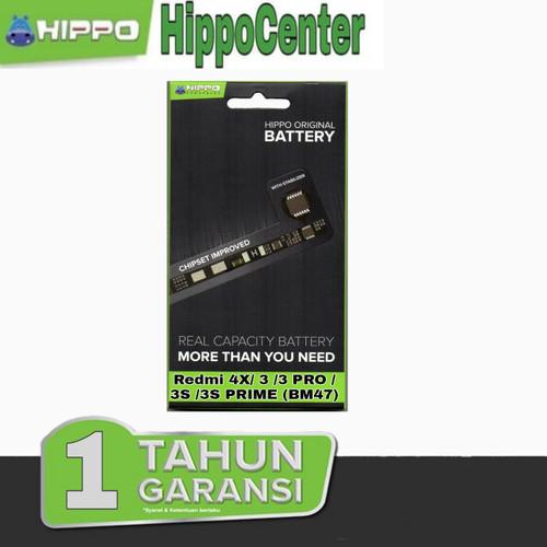 Foto Produk Baterai Hippo Xiaomi Redmi 4X, 3, 3S , 3S PRIME , 3 PRO - BM47 4000mAh dari HippoCenter