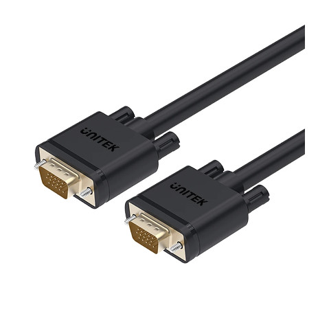 Foto Produk Kabel VGA UNITEK 3M Gold Plate Y-C504G 15 Pin (3C+6) 3 Meter dari PojokITcom Pusat IT Comp