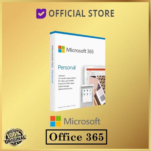 Foto Produk Microsoft Office 365 Personal 1 User Subsription 1 Year 1 Tahun dari DUNIA COMPUTER & SERVICE