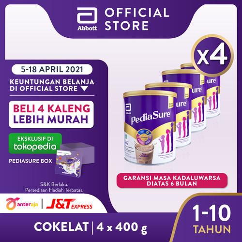 Foto Produk Pediasure Coklat 400 g (1-10 tahun) Susu Formula Pertumbuhan - 4 klg dari Abbott Official Store