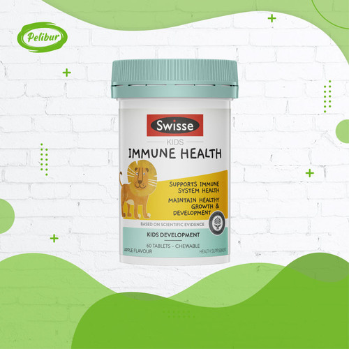Foto Produk Swisse Kids Immune Health 60 Tablet Imunitas Tubuh Anak dari pelibur
