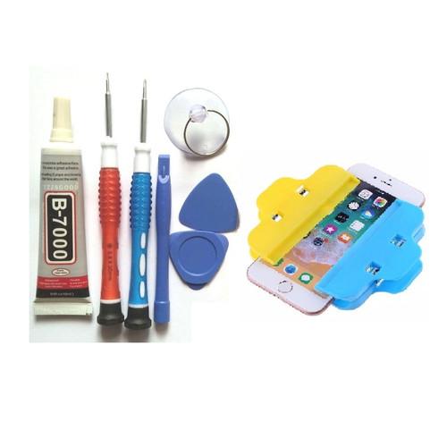 Foto Produk Obeng dan tools penjepit serta lem untuk pasang LCD Touchscreen dari SPAREPARTHP