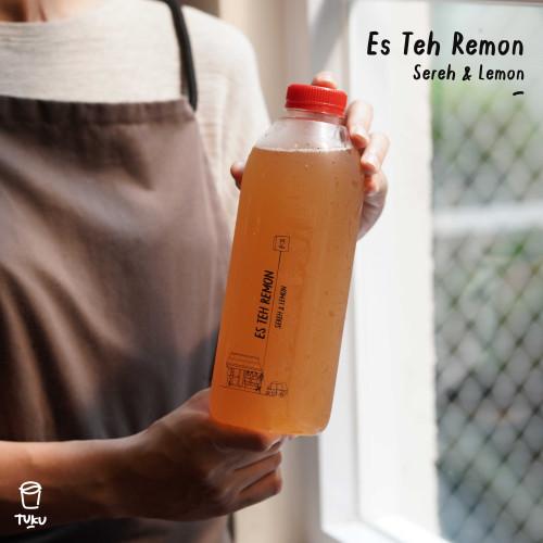Foto Produk TUKU - TUKUCUR Teh Remon (Sereh & Remon) 1 Liter - Hanya TUKUCUR dari Toko Kopi Tuku