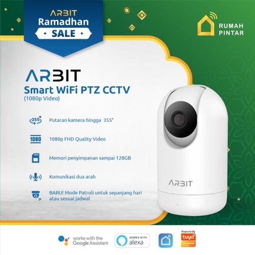 Foto Produk ARBIT - Smart Home Wifi IP Camera CCTV PTZ 1080p Audio TUYA dari ARBIT Official Store
