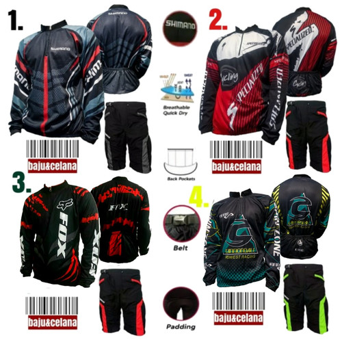 Foto Produk Baju Sepeda Jersey Celana Kaos CPX3D dari capedah