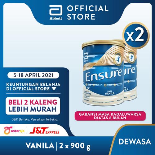Foto Produk Ensure Vanila 900 g Susu Nutrisi Dewasa Rendah Laktosa - 2 klg dari Abbott Official Store
