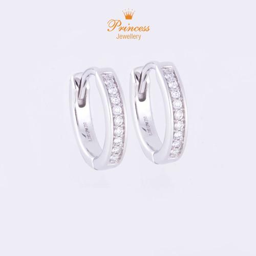 Foto Produk Anting Listring Berlian PER626576/626569/633925 Princess Jewellery - White Gold dari Princess Jewellery Online