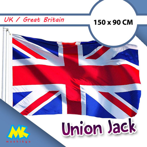 Foto Produk Bendera Inggris / Union Jack / British Flag ukuran besar dari Mushikyo