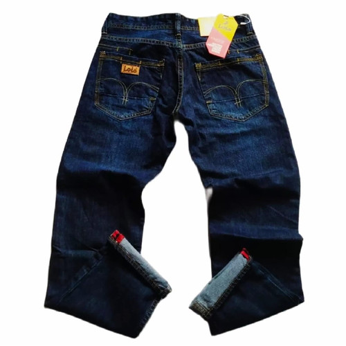 Foto Produk celana levis pria / celana jeans / celana lois / celana panjang pria - biru gelap, 28 dari Mega Store 46