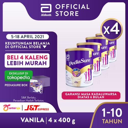 Foto Produk Pediasure Vanila 400 g (1-10 tahun) Susu Formula Pertumbuhan - 4 klg dari Abbott Official Store