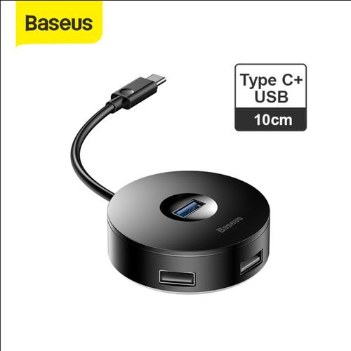 Foto Produk BASEUS USB HUB ADAPTOR TYPE C HUB MULTI PORT ADAPTER - TC-USB 10CM dari Baseus Official Store