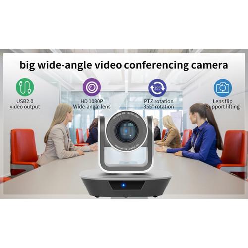 Foto Produk Robotic Webcam PTZ USB FullHD Video Conference Camera HOSODO HSD-VC203 dari EtalaseBelanja