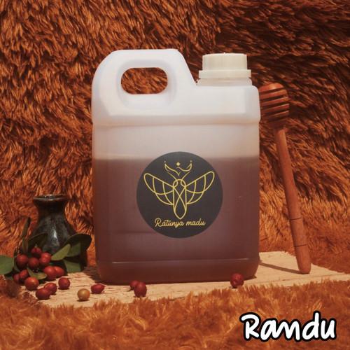 Foto Produk Madu Murni Asli 1kg - Madu Nusantara / Randu Murni Manis 100% ASLI - 500 gram dari madu pedia