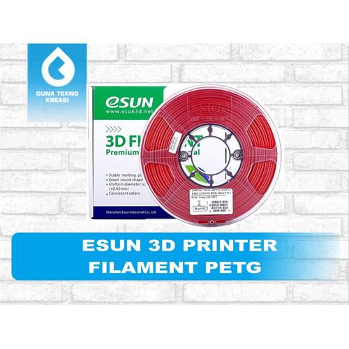 Foto Produk ESUN 3D PRINTER FILAMENT PETG - NATURAL dari Gunatek JKT Cempaka Mas