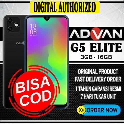 Foto Produk Advan G5 Elite 3GB/16GB Ram 3GB Internal 16GB Black Blue Deep Blue - Hitam dari Digital Authorized