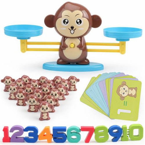 Foto Produk Monkey Balance Counting Toys for Boys & Girls Education dari Childrenbooksandtoys