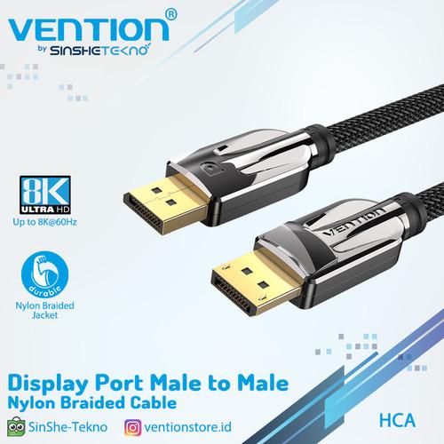 Foto Produk Vention Kabel DP Display Port 1.4 male To Male 8K UHD HDR - 3 Meter dari VENTION by SinsheTekno
