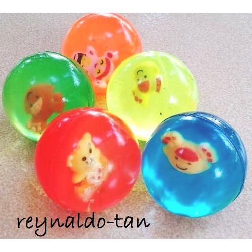 Foto Produk Bola Bekel Kecil diameter +/- 3 cm Lucu Transparan dari reynaldo-tan