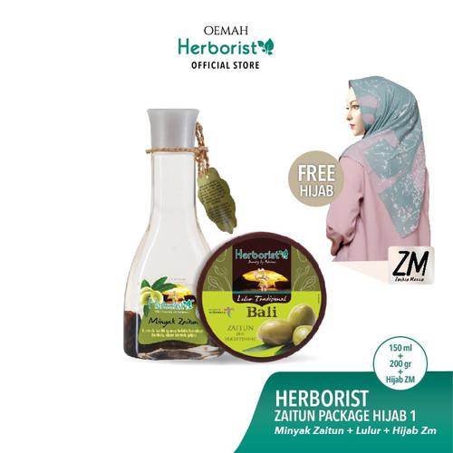 Foto Produk Herborist Paket Zaitun FREE Hijab dari Oemah Herborist