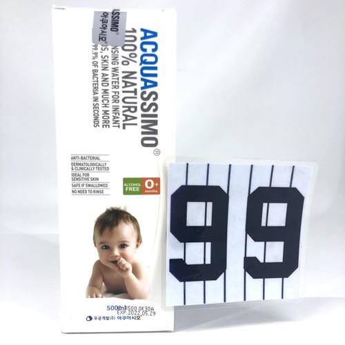 Foto Produk Acquassimo Sanitising Water 100% Natural – 500 ml Pouch - Baby Bottle 500 dari Toko 9Sembilan