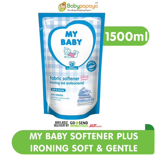 Foto Produk My Baby Softener Plus Ironing 1500 ml Soft & Gentle dari Babypapayaid