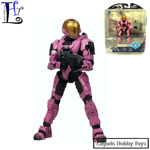 Foto Produk Halo 3 Spartan Soldier EVA Pink McFarlane Mainan Figure dari Lagoric Hobby Toys