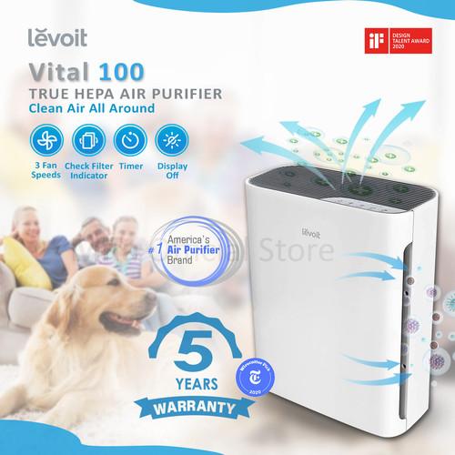 Foto Produk Levoit Vital 100 Air Purifier HEPA Filter Pembersih Udara Resmi 5Tahun dari DPRINCE