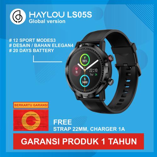 Foto Produk Haylou LS05 Solar TFT Touch Screen Smartwatch IP68 English Version - LS05SRT dari Kardel Shop