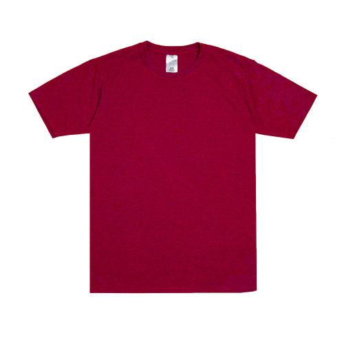 Foto Produk Sipolos Kaos Polos Twotone Lengan Pendek Pria dan Wanita- Red Maroon - S dari Sipolos Official Shop