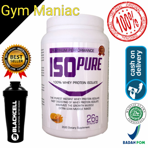 Foto Produk BLACK CELL ISO PURE 2LBS WHEY PROTEIN ISOLATE 2 LBS dari gym maniac