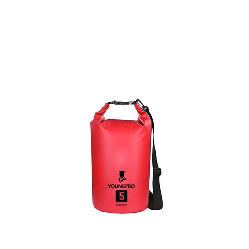 Foto Produk HOGOO DRY BAG 5 LITER TAS ANTI AIR 5L OUTDOOR WATERPROOF BAG - Merah dari YOUNGPRO INDONESIA