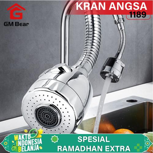 Foto Produk GM Bear Kran Angsa 1189-Wastafel Sink Tap Flexible dari GM Bear