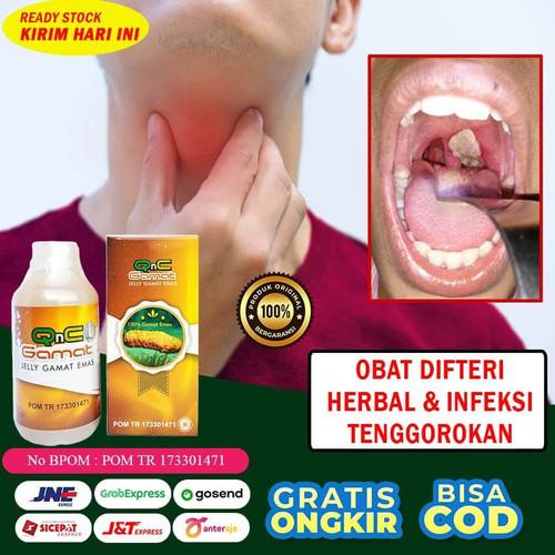 Foto Produk Obat Difteri Infeksi Tenggorokan Dan Hidung Dewasa Herbal Jelly Gamat dari Dijeksi Herbal