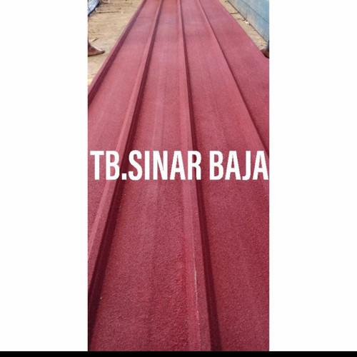 Foto Produk Atap Spandek Pasir 6 Meter x 0.30 / Atap Baja Ringan / Spandeck / Zinc dari TB Sinar Baja