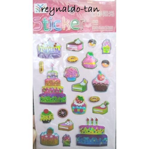 Foto Produk Stiker Anak Kue Ulang Tahun Ultah dari reynaldo-tan
