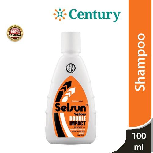 Foto Produk Selsun Yellow Double Impact Shampoo 100ml / Shampoo / Anti Ketombe dari CENTURY HEALTHCARE