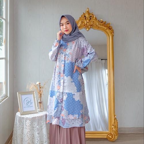 Foto Produk DYN Clothingline Freesia Tunik - lavender, M dari DYN Clothingline Official